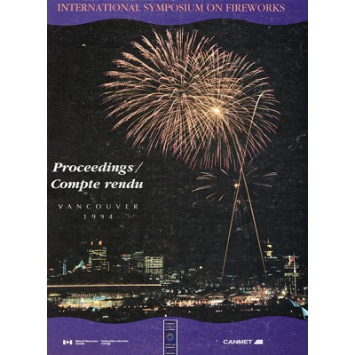 Proceedings of the International Symposium on Fireworks 1994
