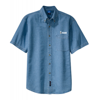 Denim Shirt - Short Sleeve