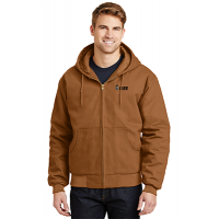 Cornerstone Duck Cloth Hooded Work Jacket