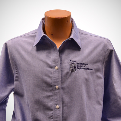 Ladies Long Sleeve Classic Oxford Shirt