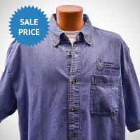 Denim Shirt - Short Sleeve