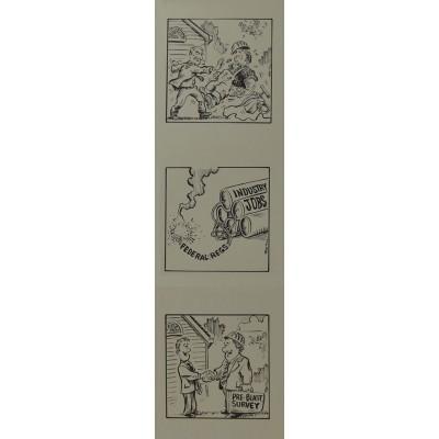 Explosive Industry Caricature (Vertical)