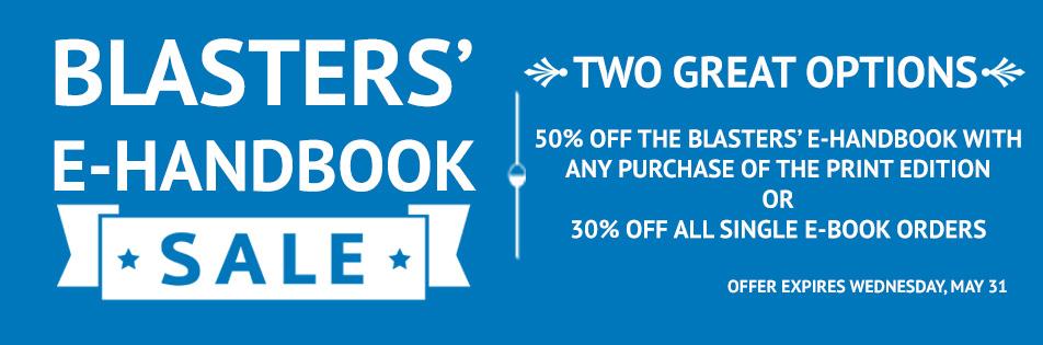 Blasters' E-Handbook Sale