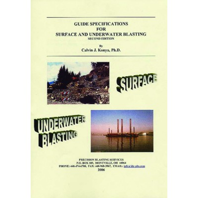 Guide Specifications for Surface and Underwater Blasting