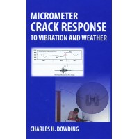 Micrometer Crack Response to Vibration and Weather